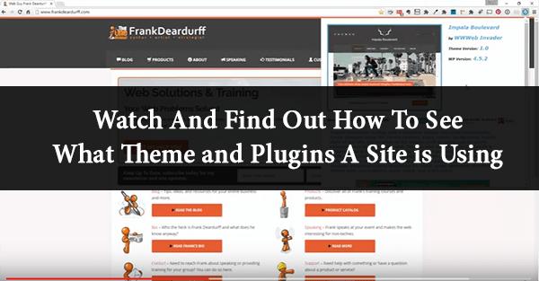 WordPress Theme and Plugin Detector