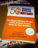 50 Biggest Website Mistakes Update